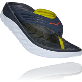 Hoka One One Ora Recovery Flips Heren, ombre blue/fiesta